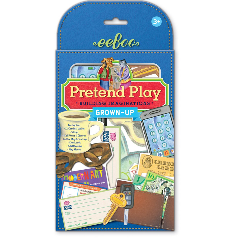 grown up Pretend Play