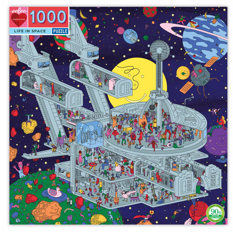 Life in Space 1000 Piece Puzzle
