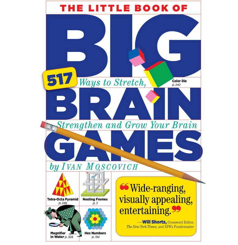 The Little Book of Big Brain Games: