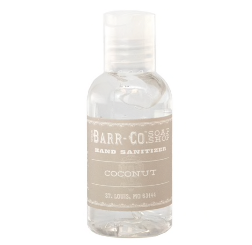 coconut hand sanitizer