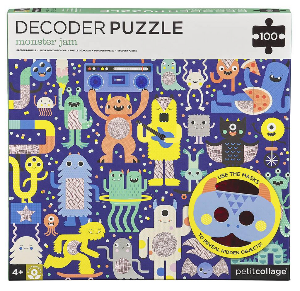 Monster Jam Decoder Puzzle