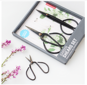 garden trimming shears set