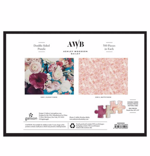 Ashley Woodson Bailey Double Sided 500 Piece Jigsaw Puzzle