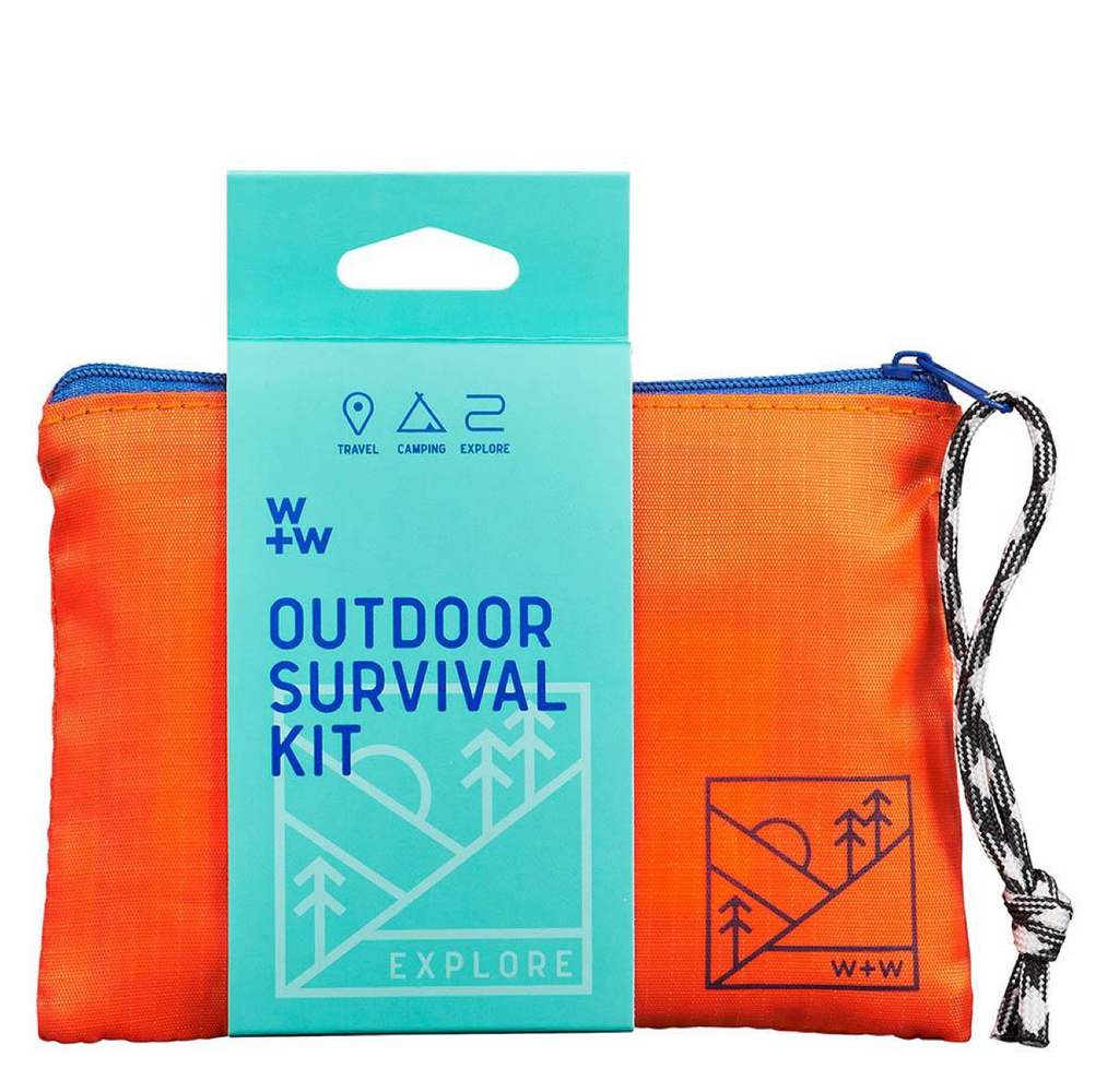 survival kit in a pouch