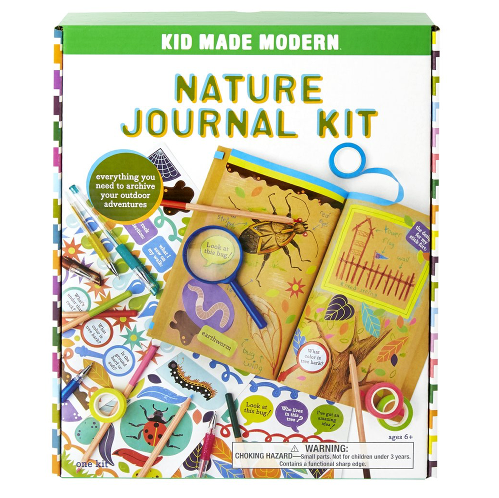 Kid Made Modern Nature Journal Kit