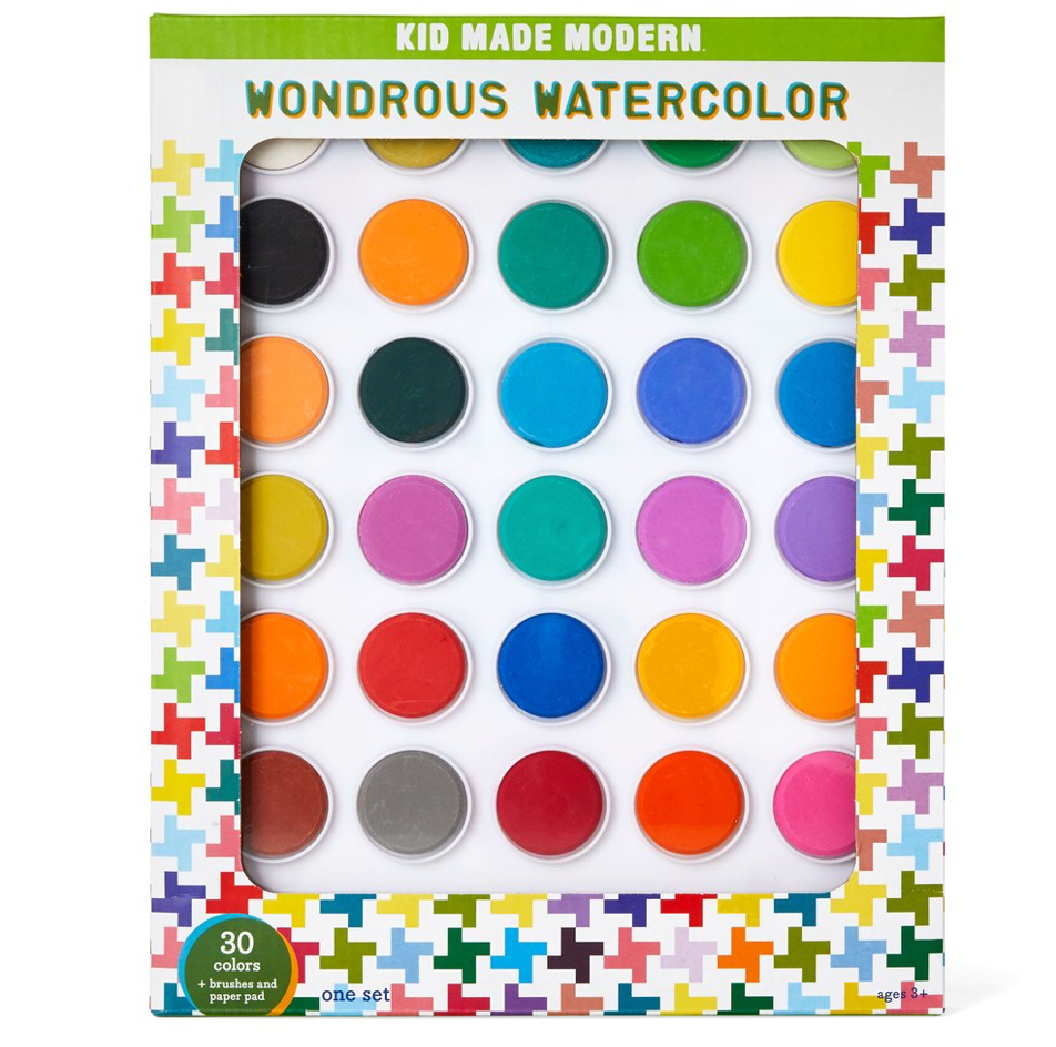 Watercolor kit:  Kid Made Modern