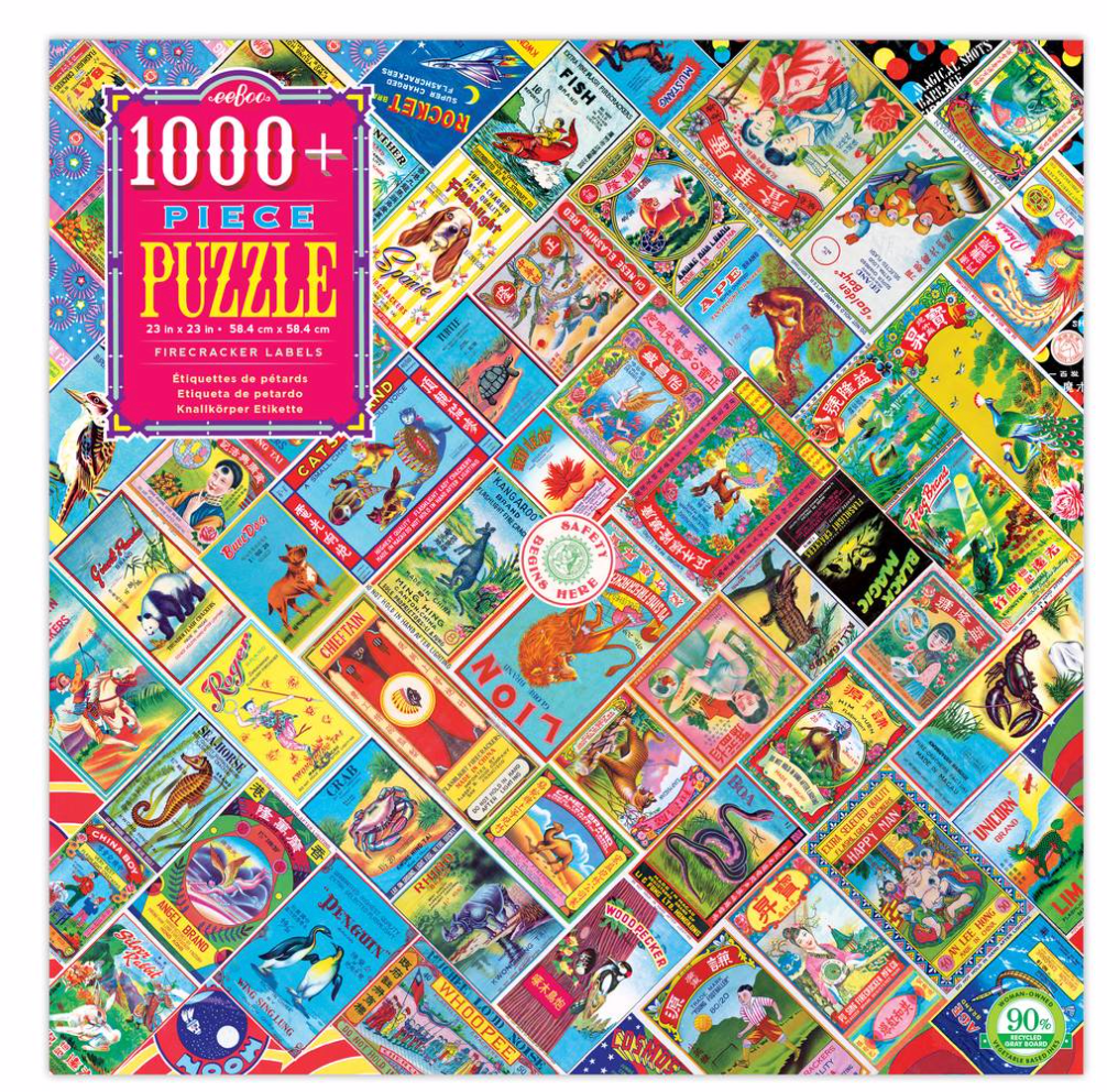 firecracker labels 1008 piece Puzzle