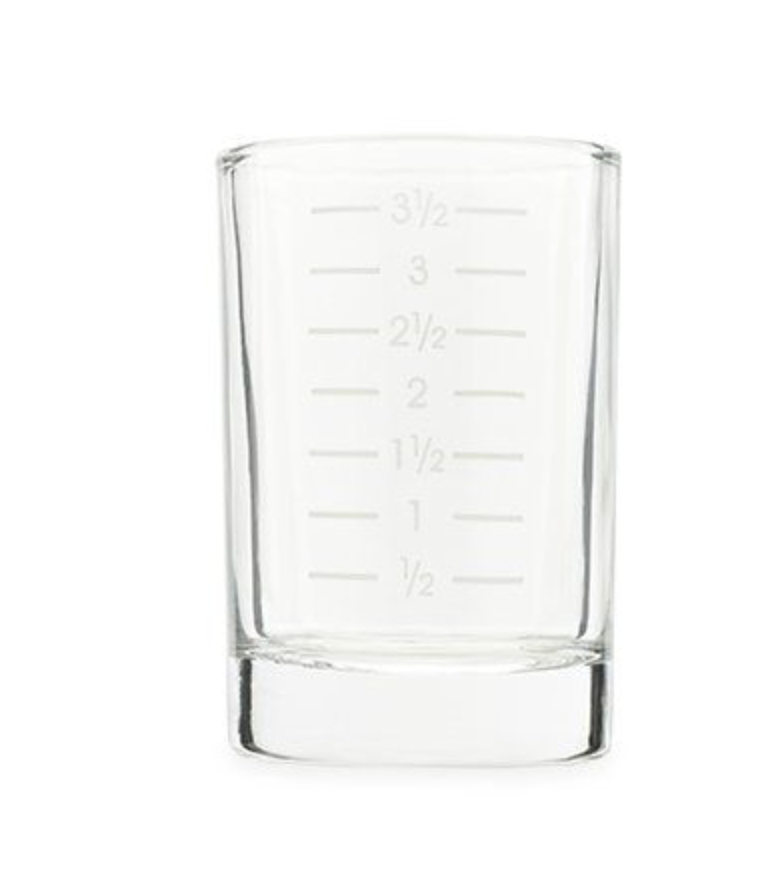 4oz Measured Shot Glass