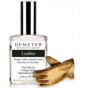 leather  : Demeter Cologne Spray