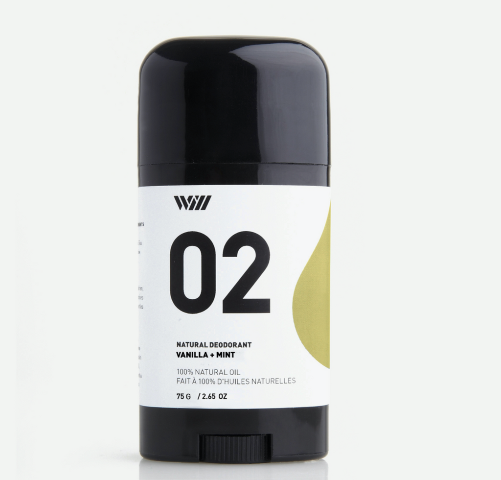 vanilla + mint: 02 Natural Deodorant