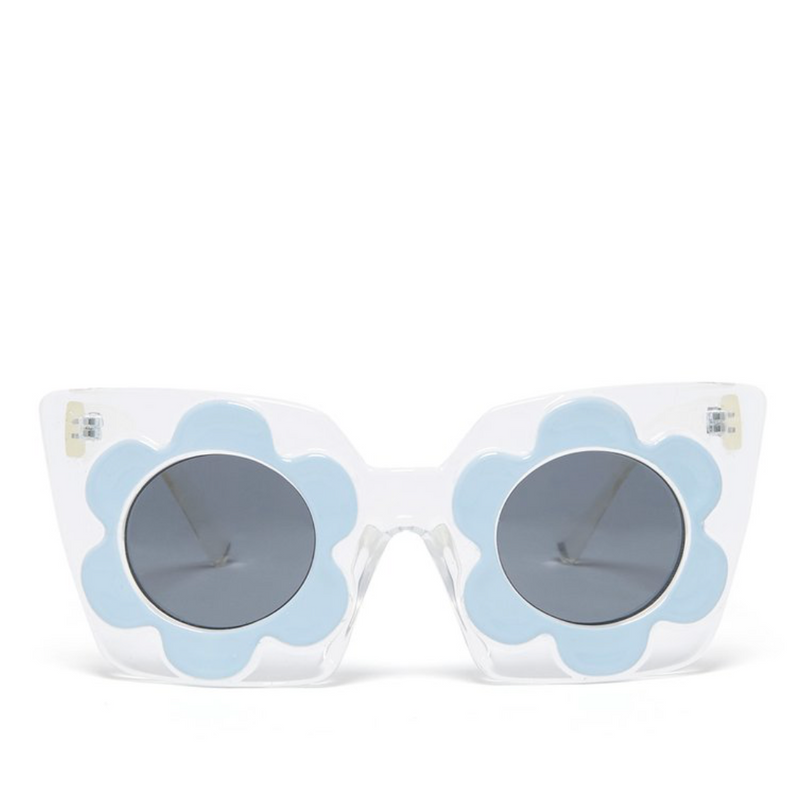 cat eye daisy sunglasses