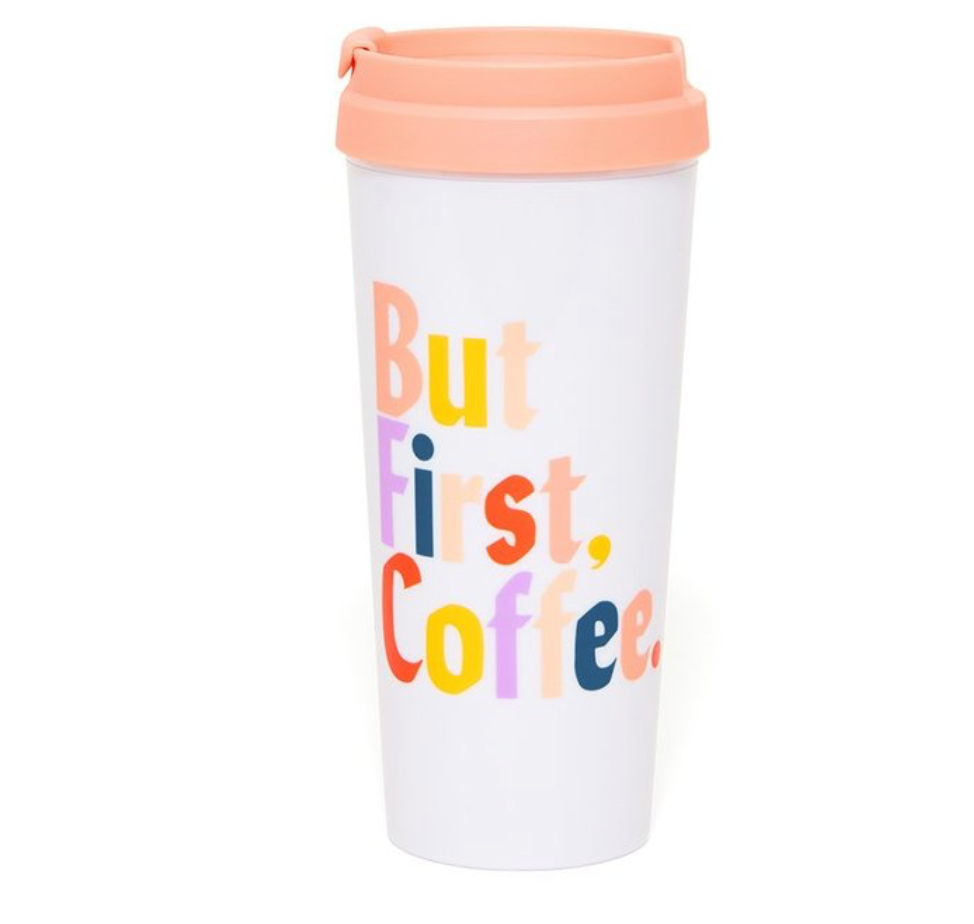 but coffee: travel mug