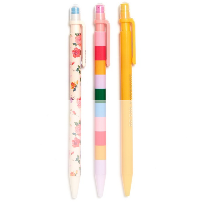 coming up roses: pencil set