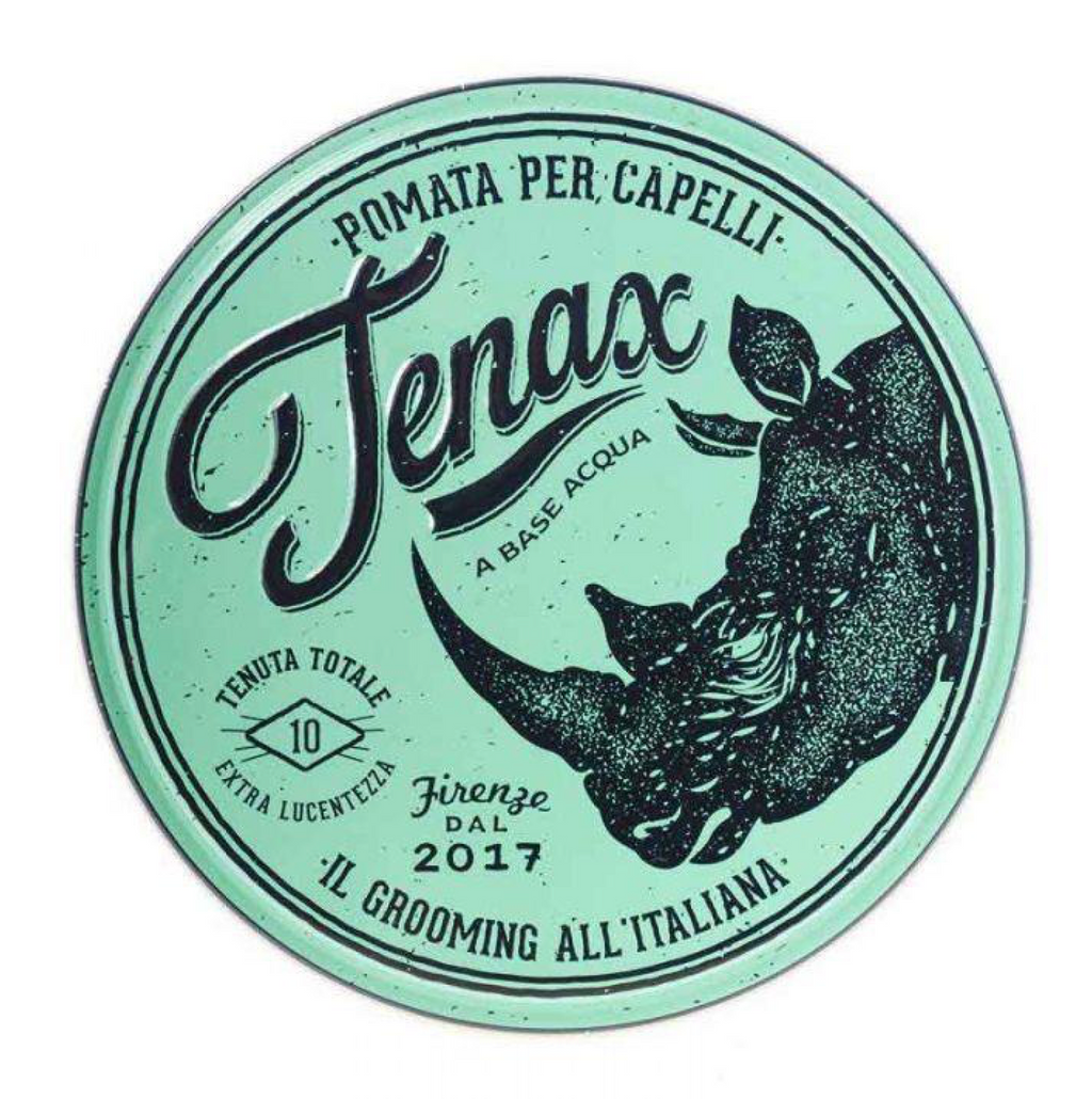 extra hold + shine: No. 10 Tenax Pomade