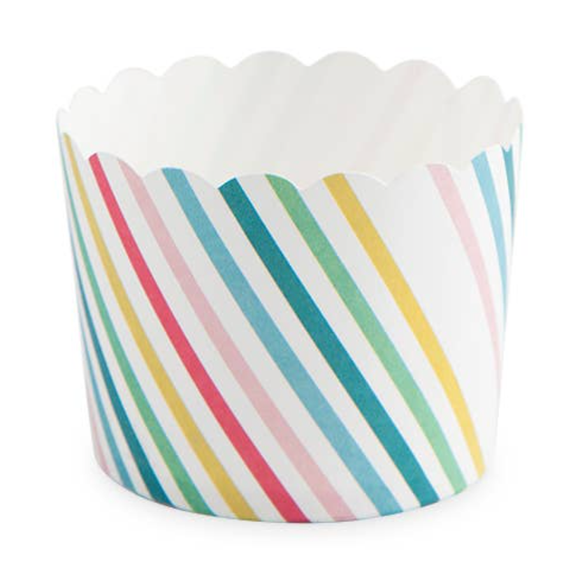 rainbow treat cups