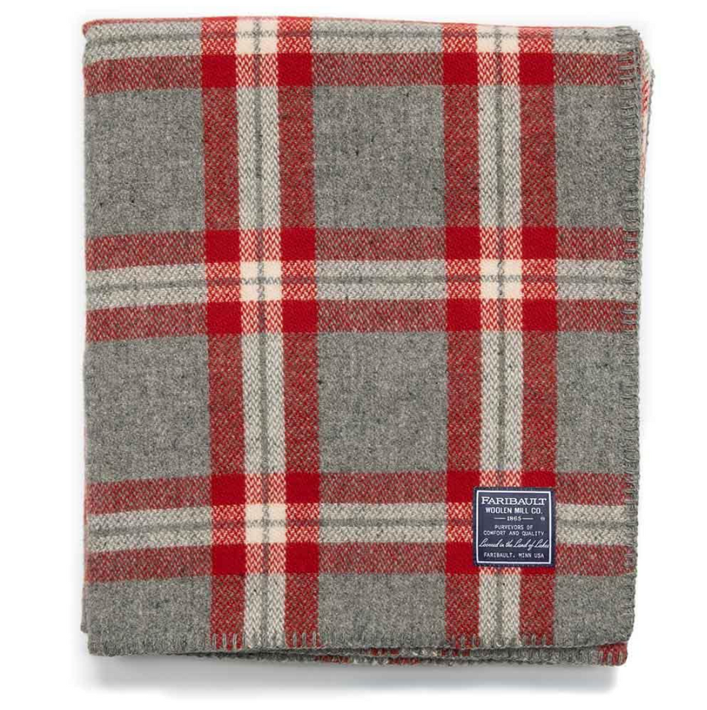 Minnehaha Falls Wool throw: