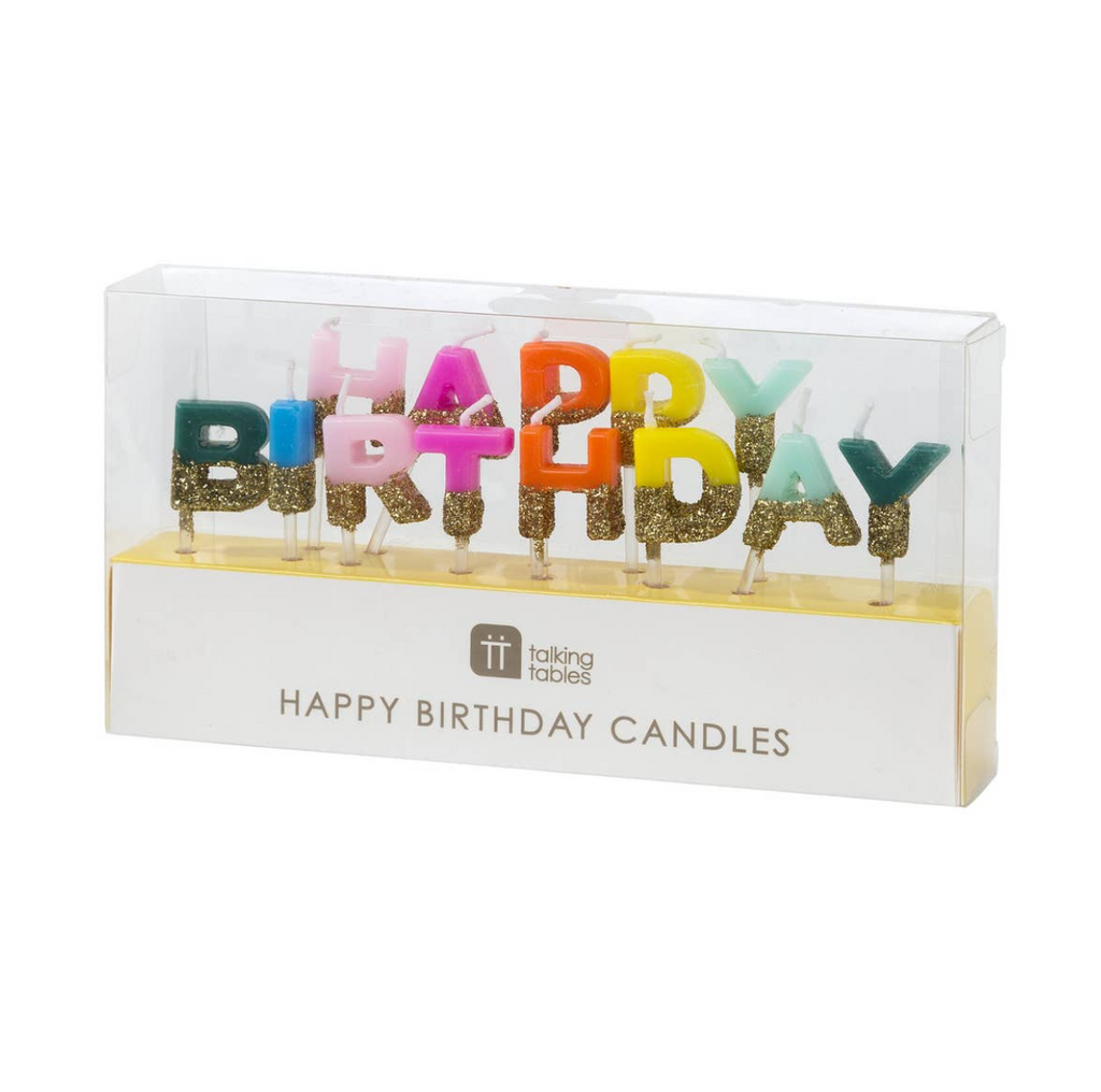 Happy Birthday Candle set