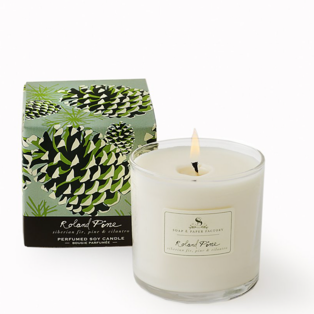 5 oz Roland Pine Soy Candle