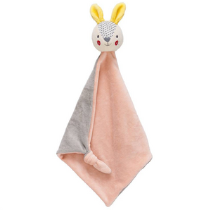 Bunny Blankie: Collage Organic Soft Cotton