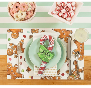 gingerbread men place mats