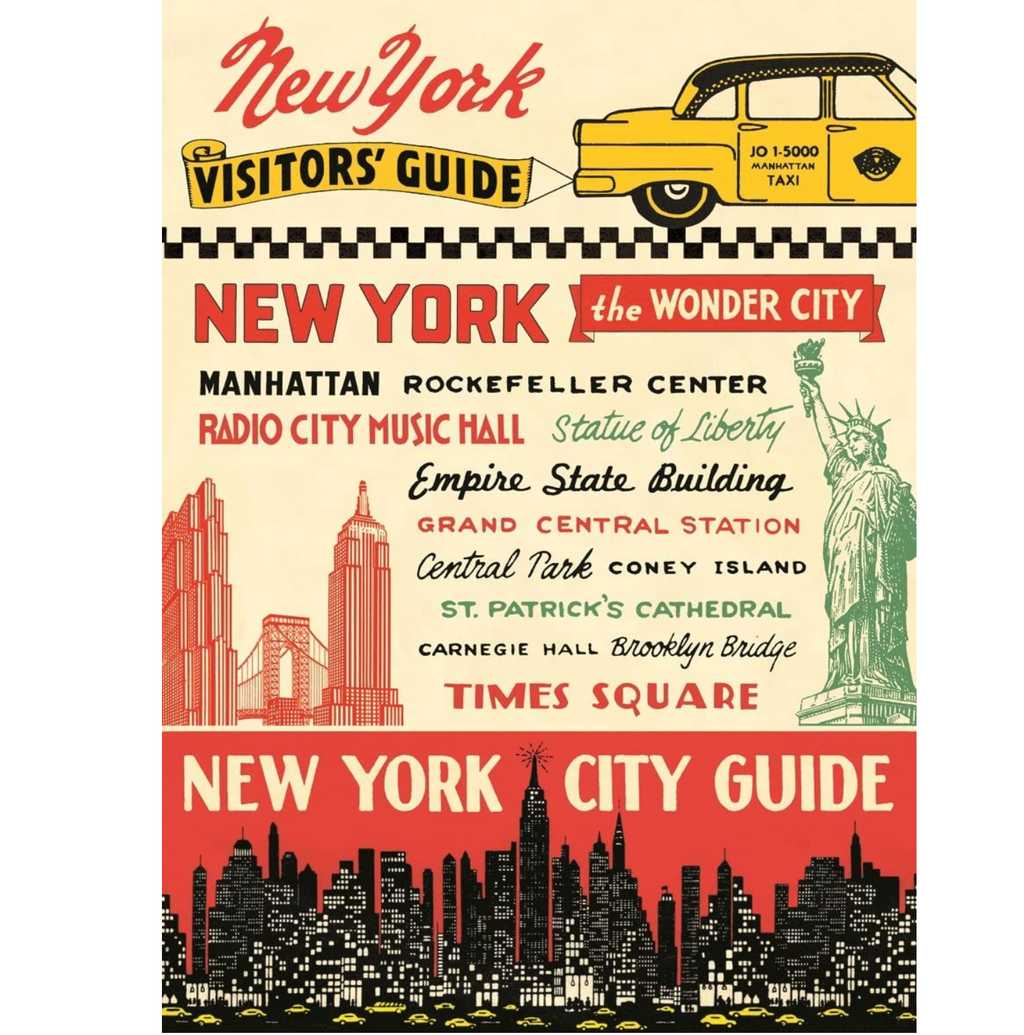 New York Visitors Guide Poster