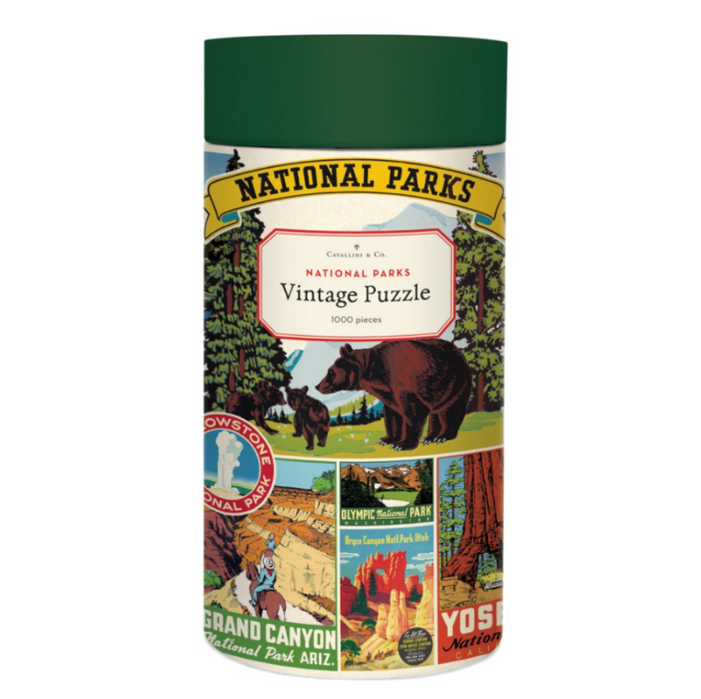National Parks Bear  1,000 Piece Puzzle