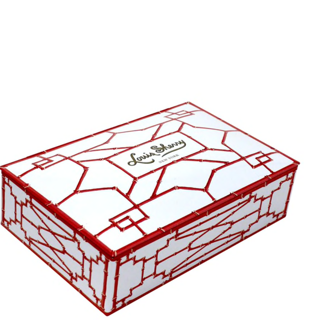Coral Bamboo Collection Harrison Howard Truffle Tin 12-Piece Truffle Collection