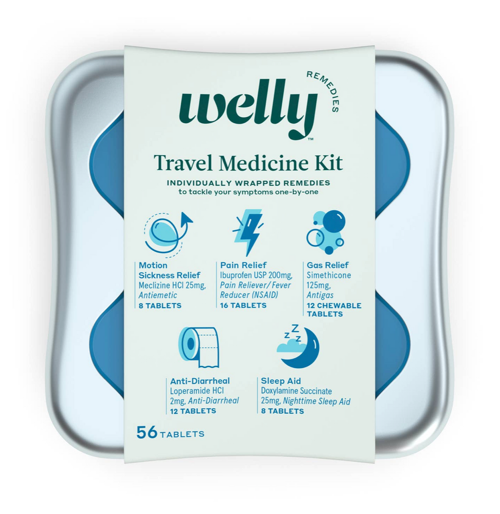 Travel Medicine Kit - WELLY REMEDIES