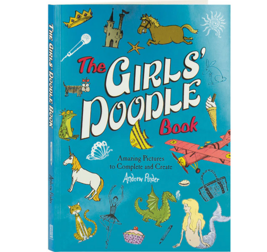 The Girl's Doodle Book: Amazing Picture to Complete and Create
