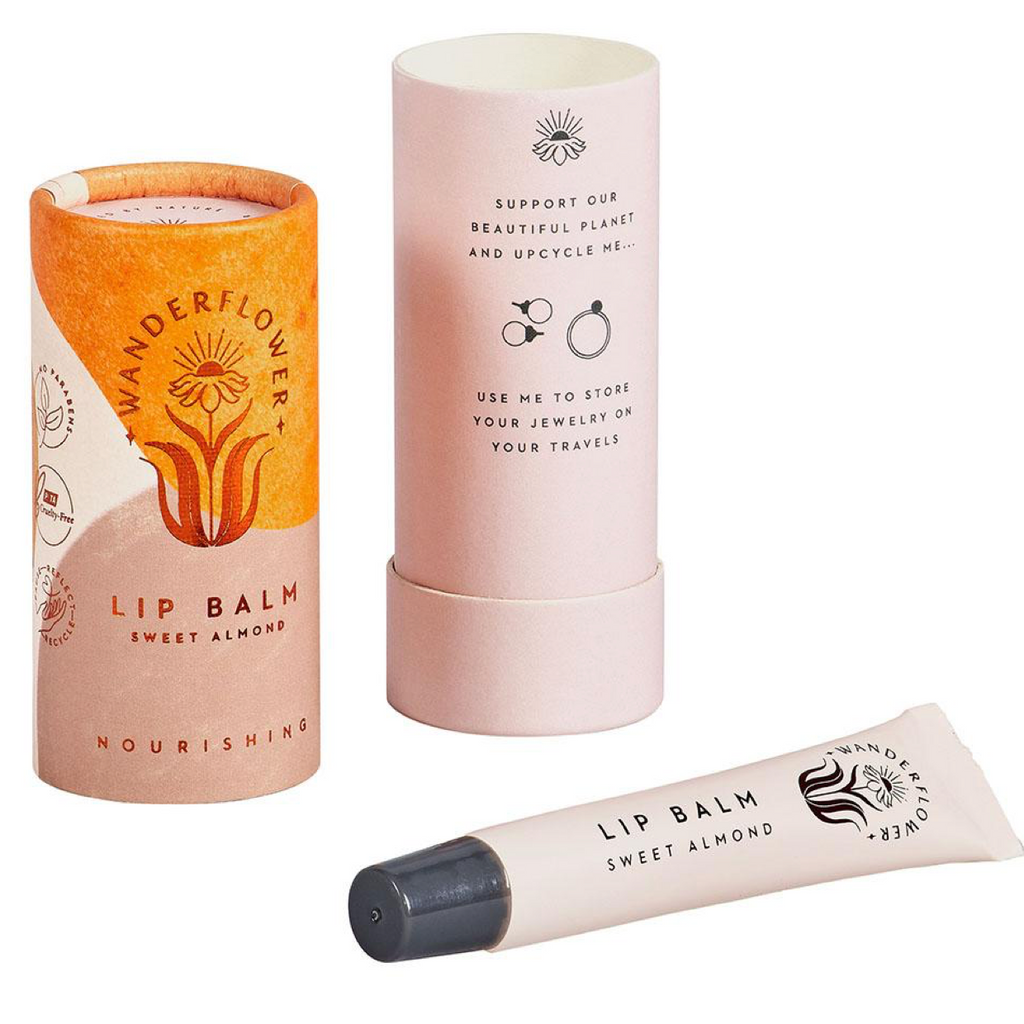 Wanderflower Sweet Almond Lip Balm