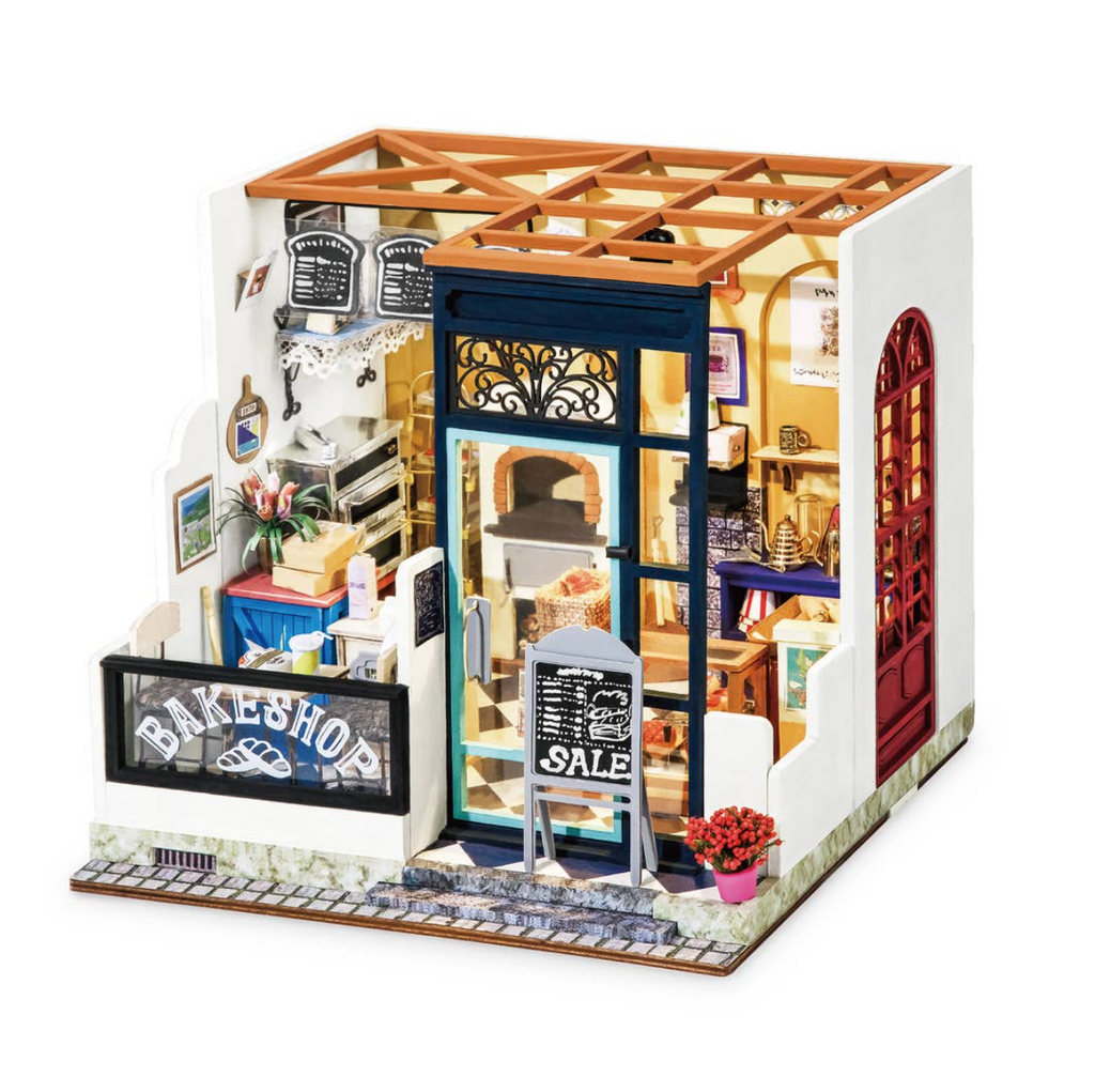 Bake Shop DIY Miniature Dollhouse Kit