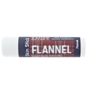 Flannel skin stick
