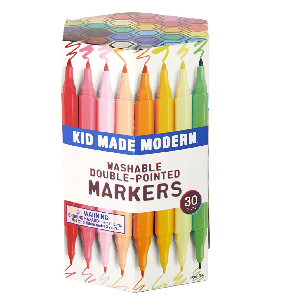 30 Double Pointed Markers- Kid Made Modern