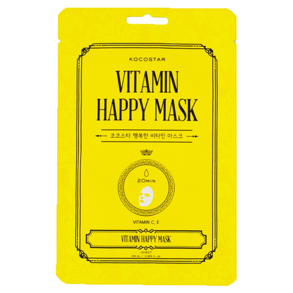 Vitamin HAPPY Mask - Kocostar