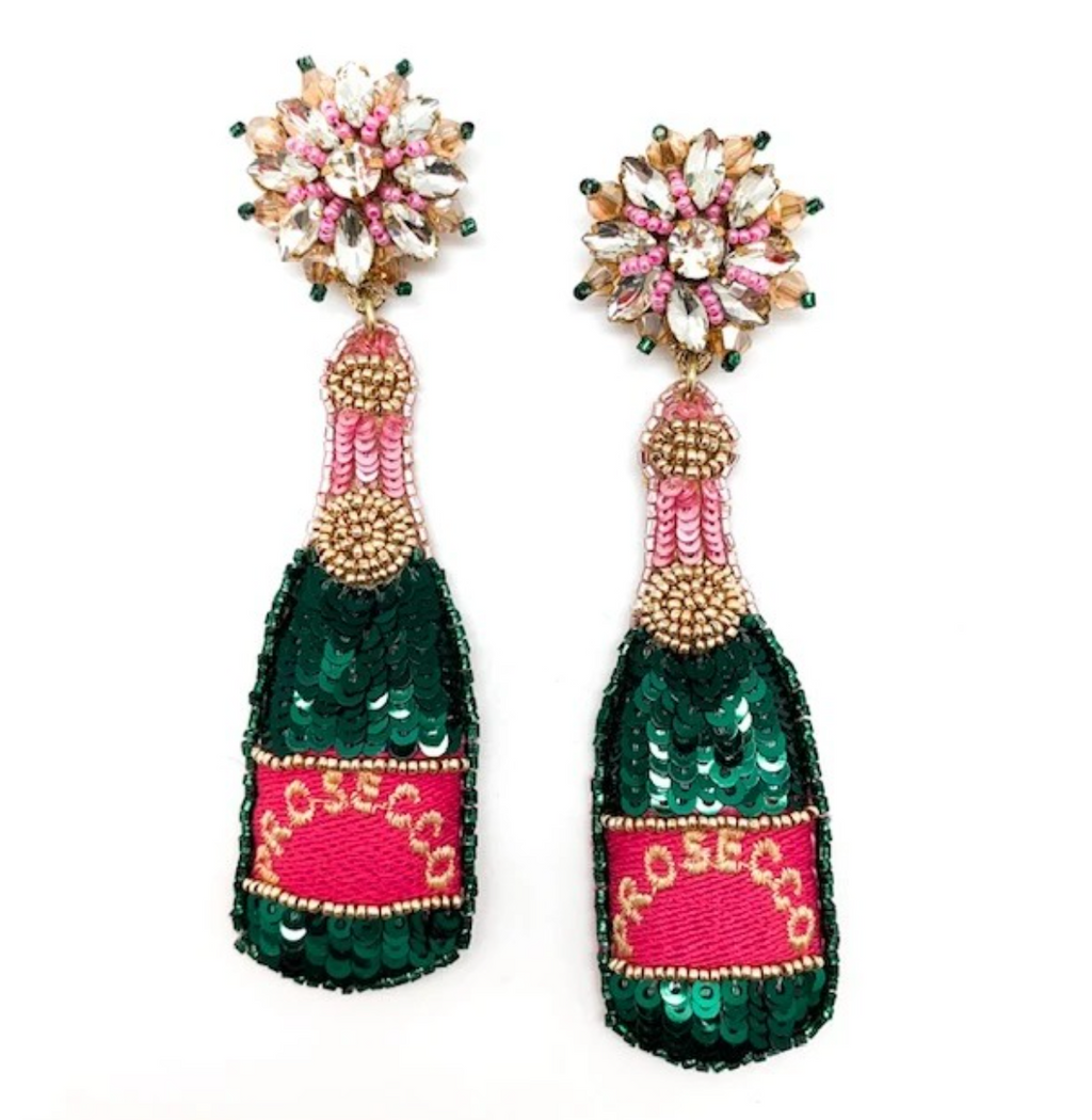 prosecco: earrings