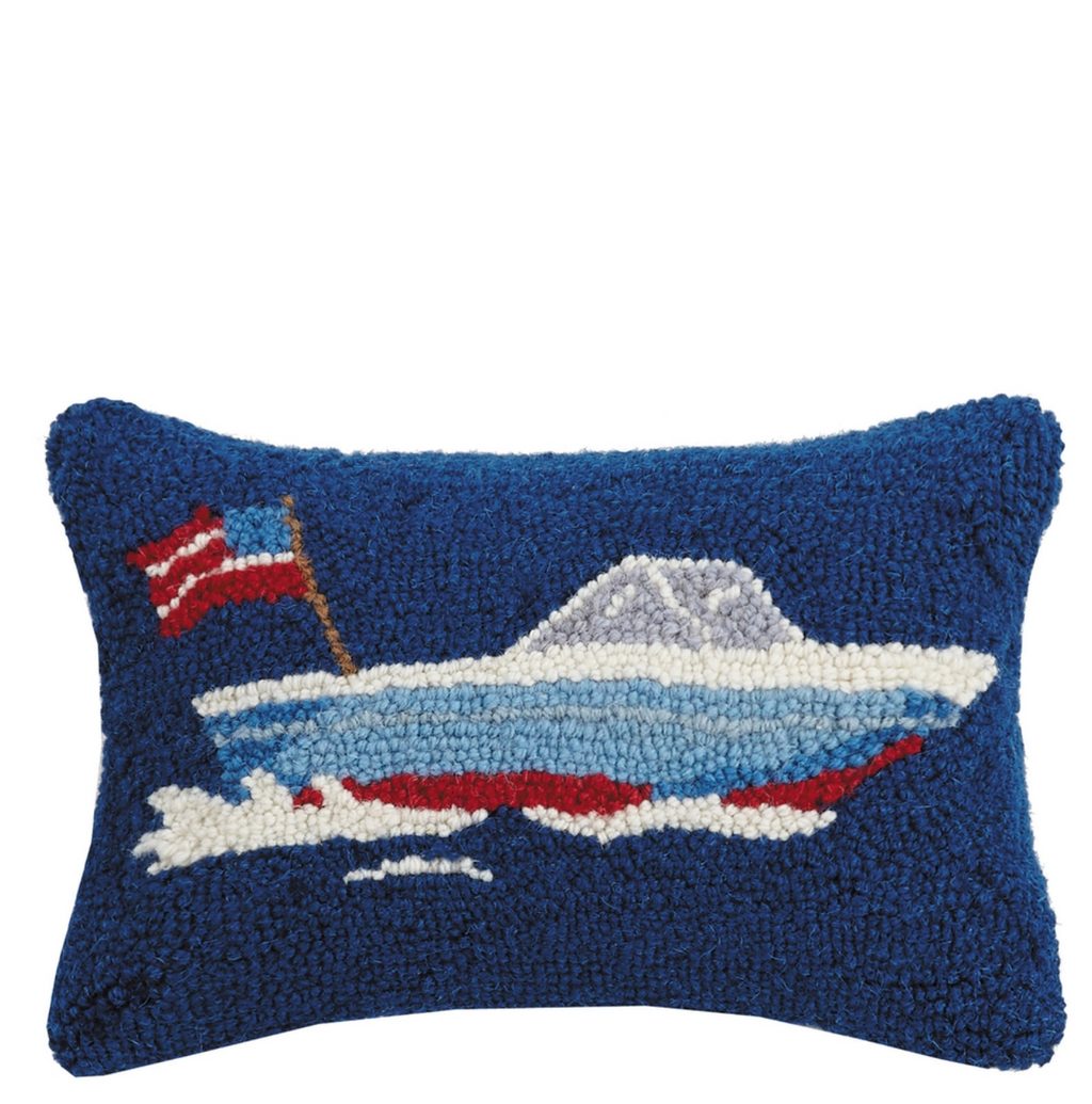 speed boat pillow