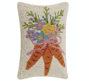 Carrot Bouquet Hook Pillow