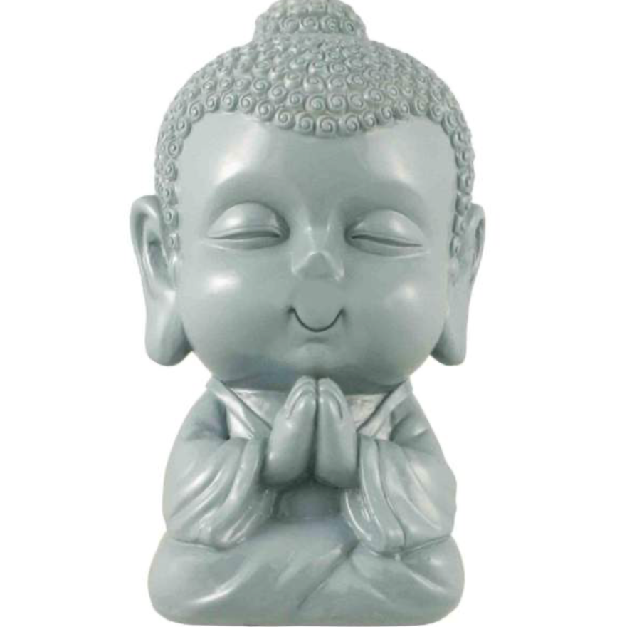aqua grey Buddha bank