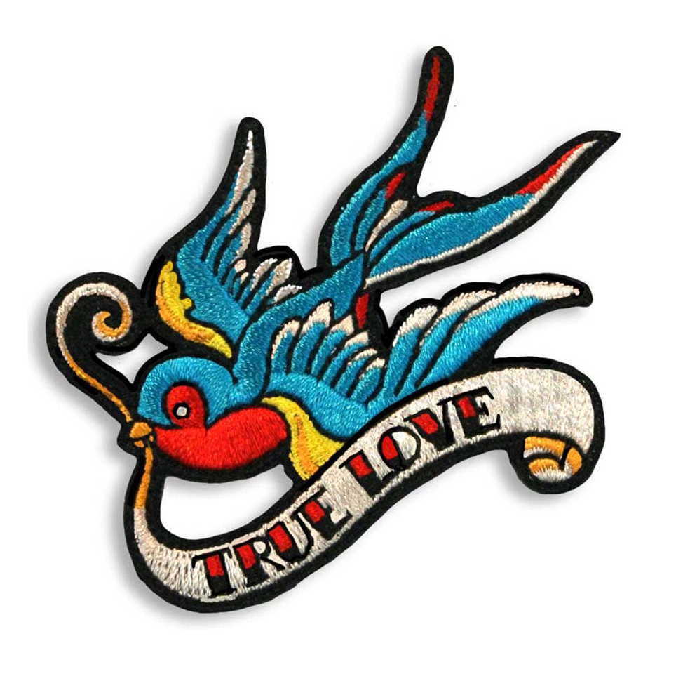 true love tattoo Iron-On Patch