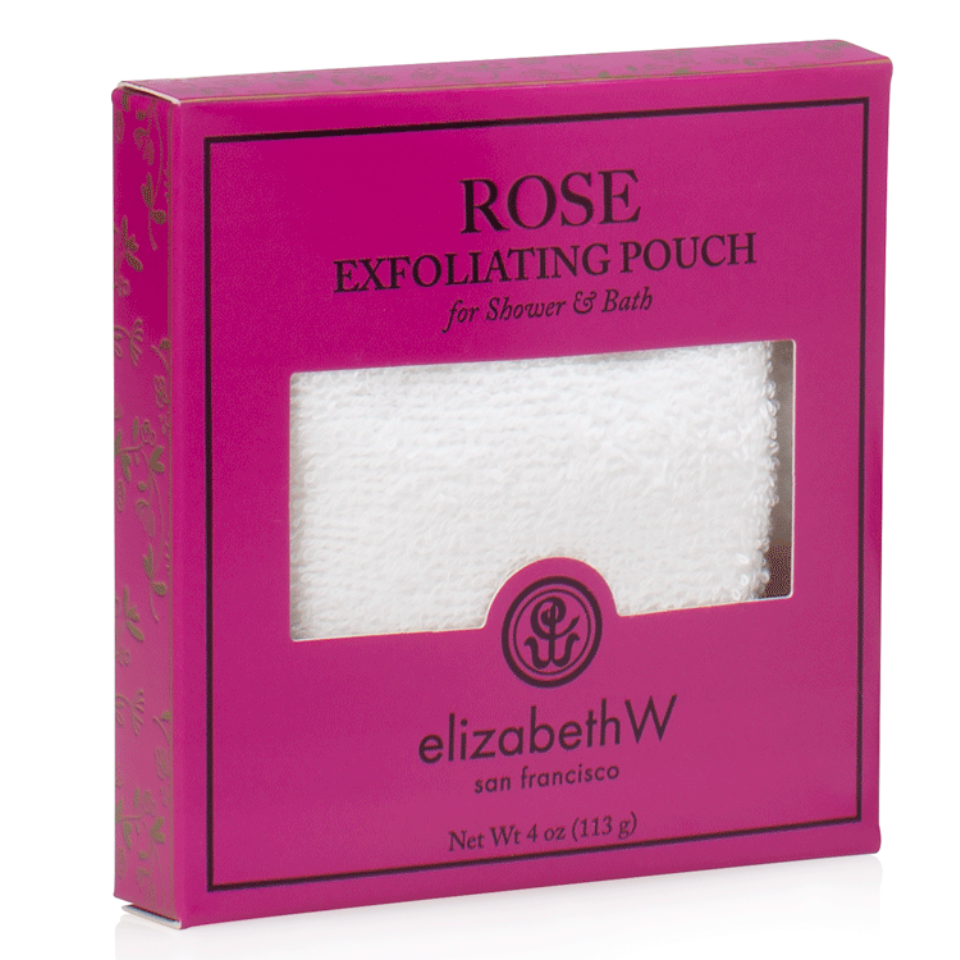 Rose Exfoliating Pouch