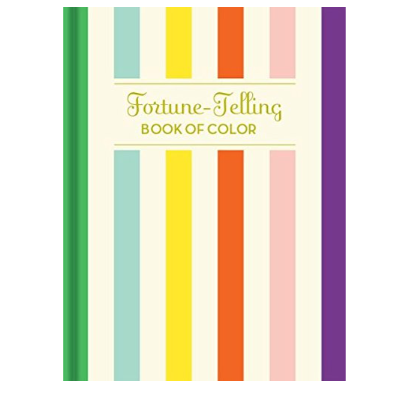 fortune telling book of color