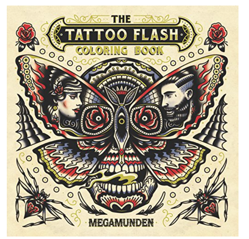 The Tattoo Flash Coloring Book: For Adults