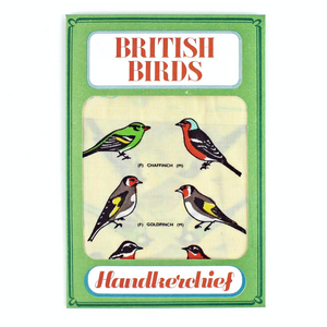 British Birds Handkerchief