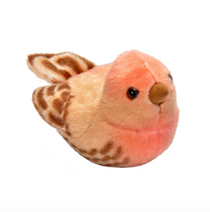 Audubon II House Finch Stuffed Animal with Sound
