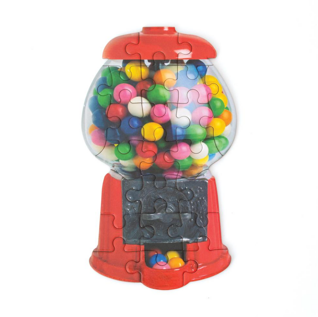 Bubble Gum Machine Scratch & Sniff Mini Puzzle