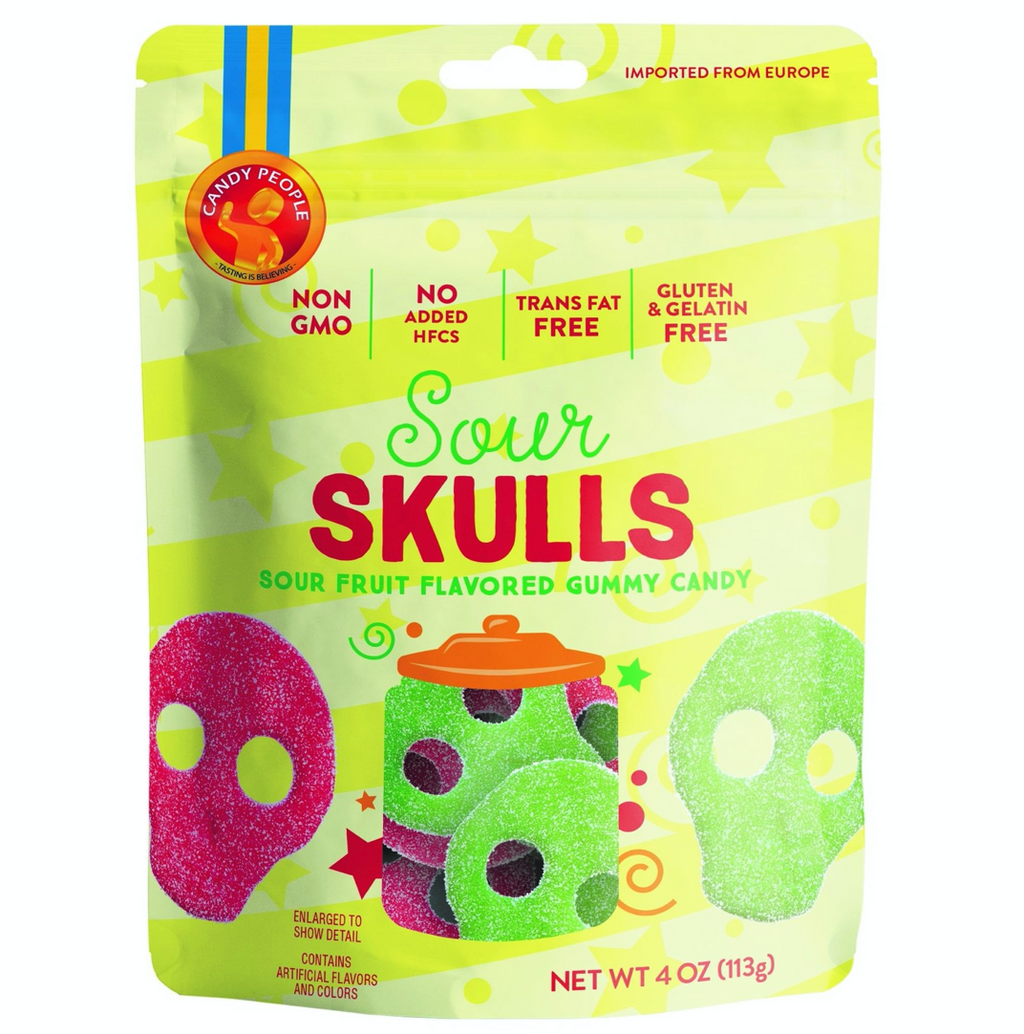 Sour Skulls : swedish gummies