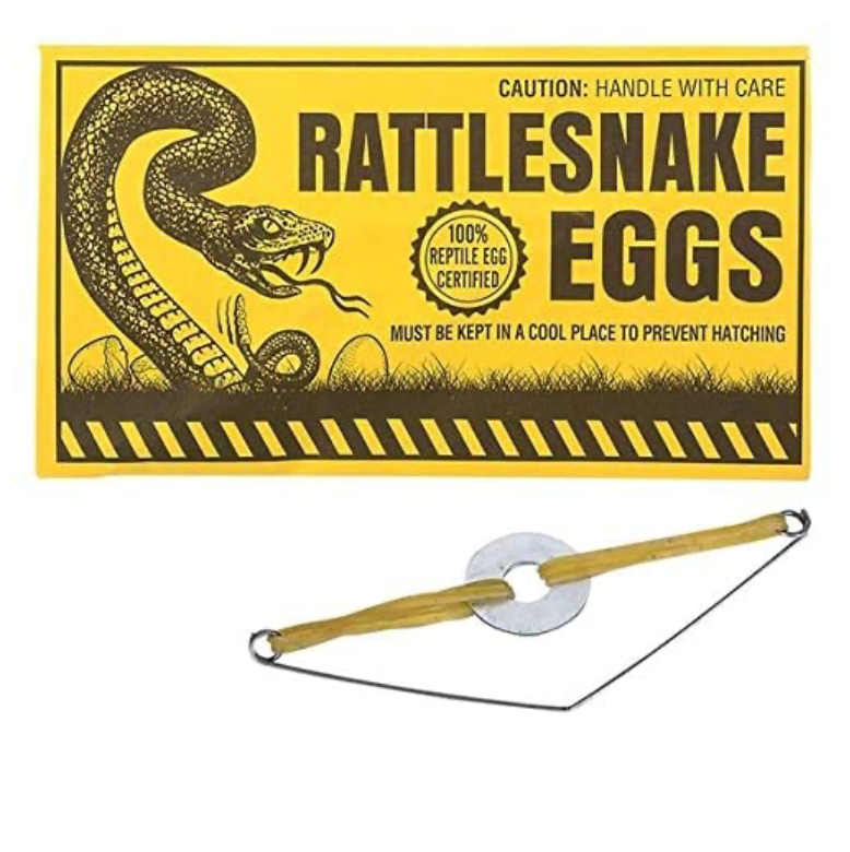 Joke Rattlesnake Eggs Envelope