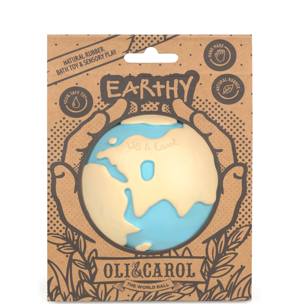 Earthy the World Ball Bath Toy