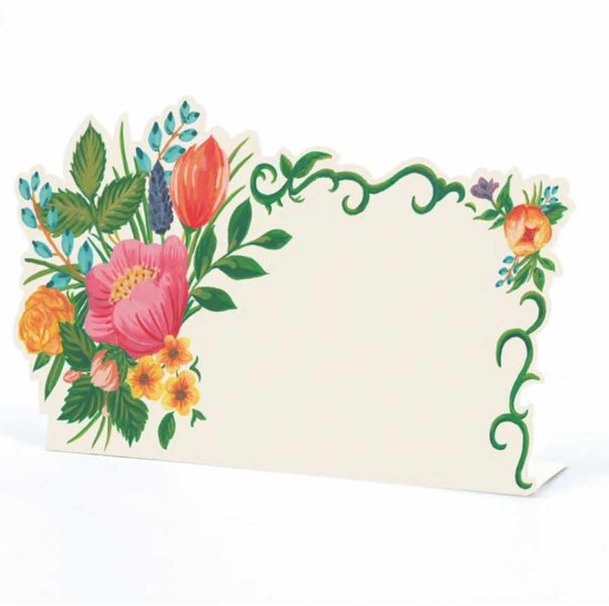 sweet garden place cards
