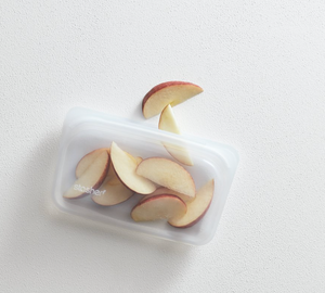 snack Stasher: reusable silicone bag